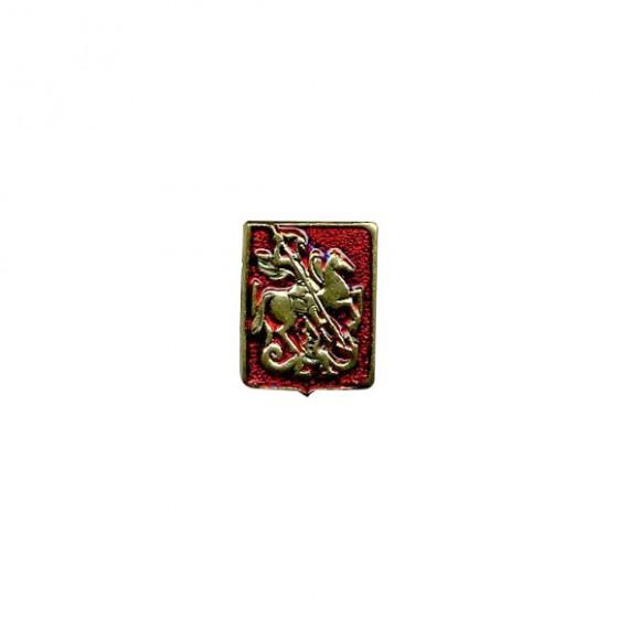 Миниатюрный знак Герб Москвы металл