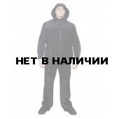 Костюм МПА-10-02 (Ирбис флис+мембрана ) черный