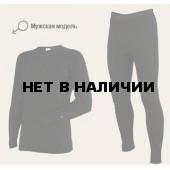 Комплект мужского термобелья Laplandic: рубашка + кальсоны (A50-S-BK / A50-P-BK)