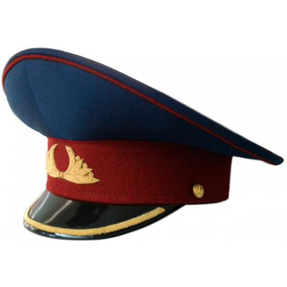 Фуражка генерал ФСИН повседневная модельная золото
