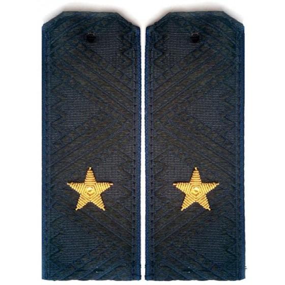 Погоны генерал-майор ФСБ с хлястиком повседневные