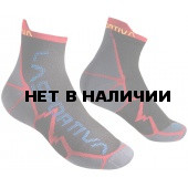 Носки LONG DISTANCE SOCKS Black/Red, 29SBR