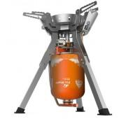 Горелка газовая c системой ППТ и встроенной ветрозащитой, FAMILY NEW FMS-108N, пьезоэлемент Металлик, FMS-108N