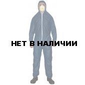 Комбинезон одноразовый ЗонГАРД синий р.3ХL (Х50)