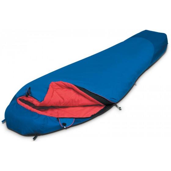 Мешок спальный TIBET Compact синий, правый, 9204.03051