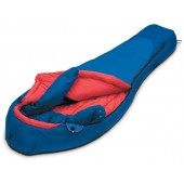 Мешок спальный GLACIER синий, правый