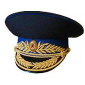 Фуражка генерал ФСБ (ФСО) парадная модельная метанит