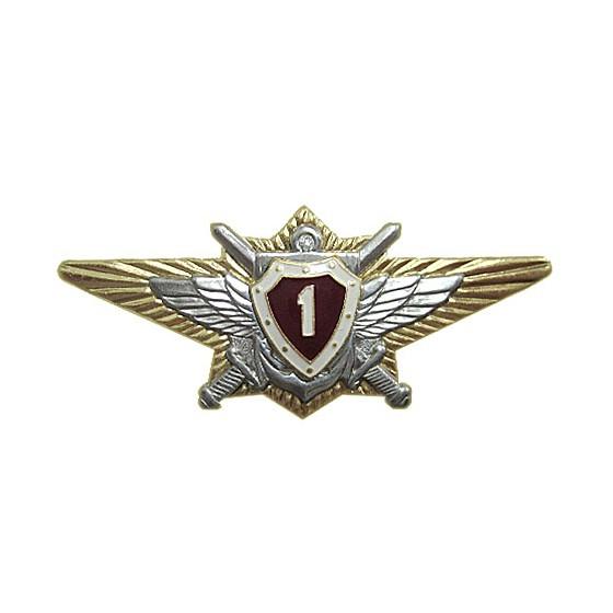 Нагрудный знак Классность о/с ВВ МВД 1 металл
