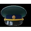 Фуражка Пограничные войска (нового образца) повседневная модельная