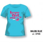 Футболка LASPO GIRL TEE Woman Malibu Blue, 01PMB