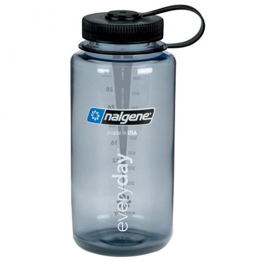 Бутылка Nalgene WM 1 QT GRAY W/BLACK LID