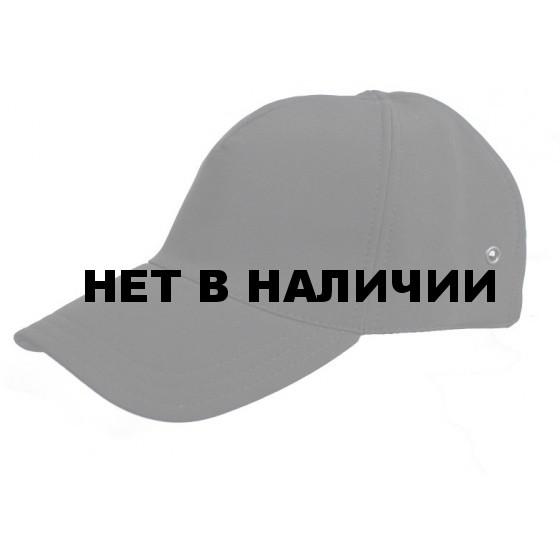 Бейсболка МПА-15-01 черный, ткань Мираж