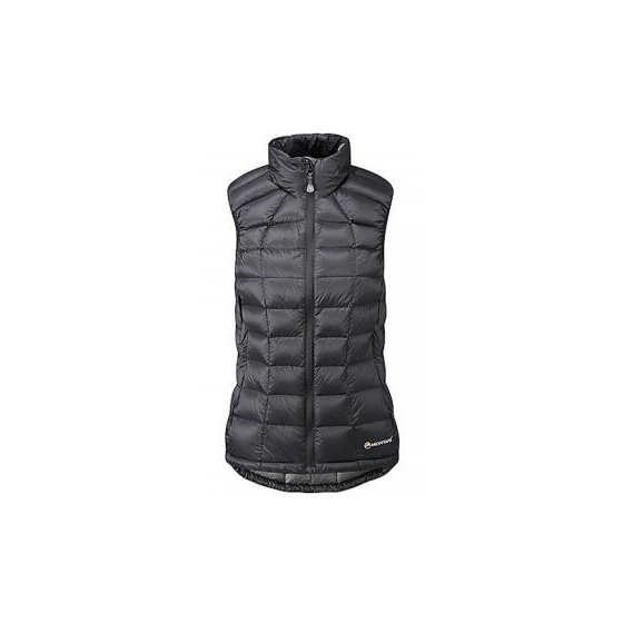 Жилетка пух. жен. ANTI-FREEZE VEST, M black/steel, FANVEBLAM2