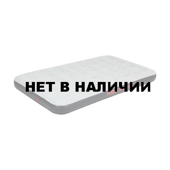 Матрац надувной Air bed Twin серый/тёмно-серый, 185x100х20 см, 40086