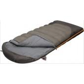 Мешок спальный SUMMER WIDE PLUS одеяло, серый, правый