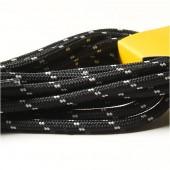 Шнурки TRANGO 170 12пар Black, 093BW