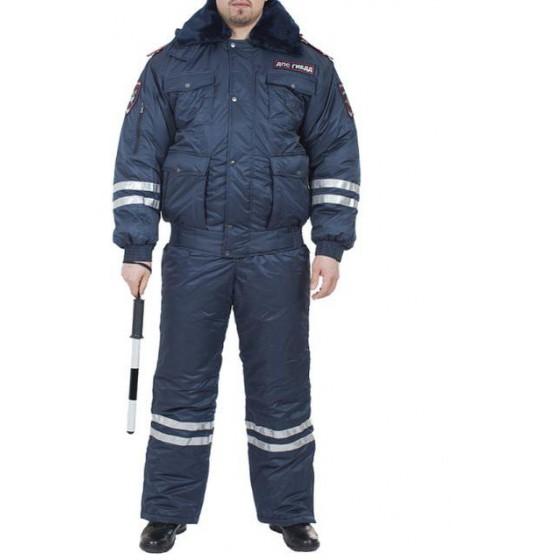 Костюм ДПС всесезонный с нашивками Полиция