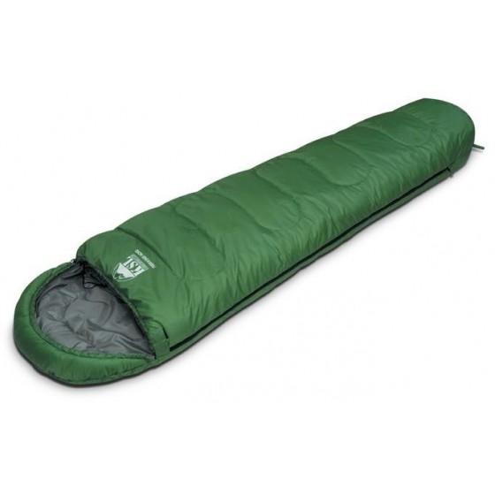 Мешок спальный TREKKING NORD зеленый, левый, 6222.01012