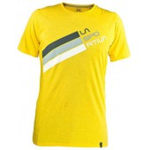 Футболка Stripe Logo T-Shirt M Yellow, H04YE