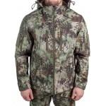Куртка с капюшоном МПА-26-01 (ткань софтшелл), камуфляж питон лес