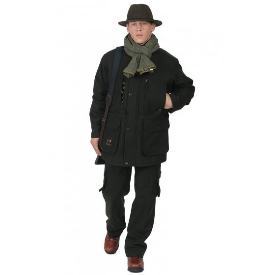 4229А/4230А костюм для охотника демисезонный с вышивкой сукно