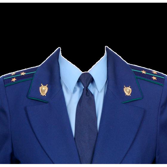 Китель Прокуратура однобортный синий индивидуальный пошив
