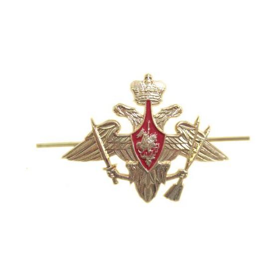 Эмблема Орел ВС РВСН на тулью металл