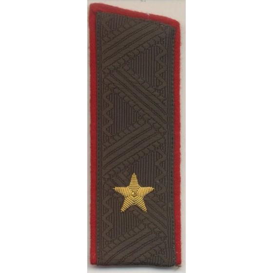 Погоны генерал-майор МО на китель повседневные