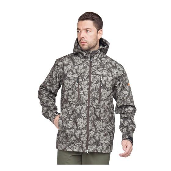 Куртка тактическая Тегерек демисезон.тк. софтшелл 100% пэ, мембрана+флис, цвет олива (камни).Sobol