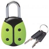 Брелок Замок Жучок с ключами (упак=10 шт), 3601