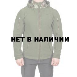 Куртка МПА-63 (флис зеленый, мембрана питон лес)