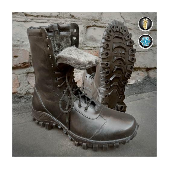 Ботинки Garsing с высоким берцем Extrim Winter натуральный мех арт.266