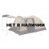 Палатка Caurus 5 коричневый, 400x300х190см, 11496
