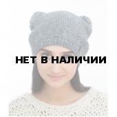 Шапка полушерстянаяmarhatter женская MWH 7192/2 св. серый