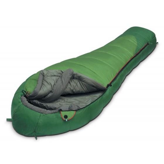 Мешок спальный MOUNTAIN Wide зеленый, левый