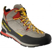 Кроссовки BOULDER X MID Grey/Red, 17EGR