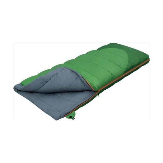 Мешок спальный SIBERIA зеленый левый