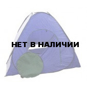 Палатка зимняя автомат 2х2 сине-белая (дно на молнии)