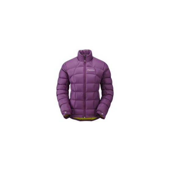 Пуховка жен. ANTI-FREEZE JKT, M berry/black, FANJABERM2