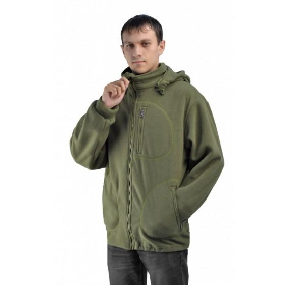 """Флисовая мужская куртка """"Gerkon Picnic"""" цвет """"Хаки"""""""