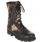 Облегченные ботинки с высокими берцами ЕГЕРЬ кожа-нейлон 100D 1441
