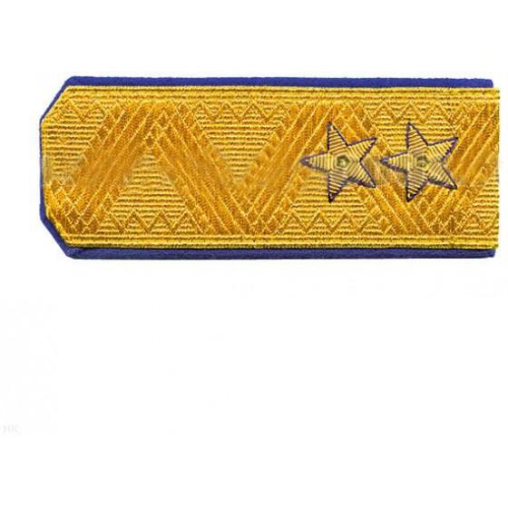 Погоны генерал-лейтенант ФСБ на китель парадные