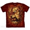 Футболка The Mountain Fire Tiger
