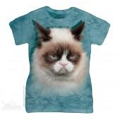 Футболка женская The Mountain Grumpy Cat