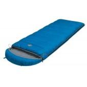 Мешок спальный CAMPING COMFORT PLUS синий, одеяло, левый, 6254