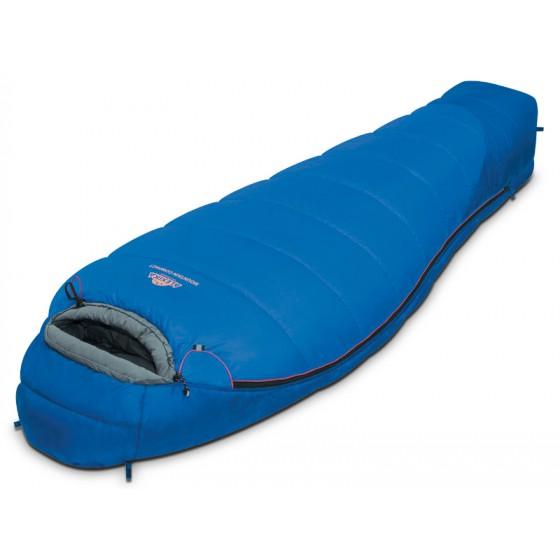Мешок спальный MOUNTAIN Scout синий, левый