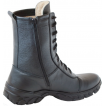 Зимние ботинки с высокими берцами ЭКСТРИМ ZIP кожа-меринос 174