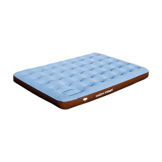 Матрац надувной Air bed Double Comfort Plus синий/коричневый, 197 x 138 x 20 см, 40067