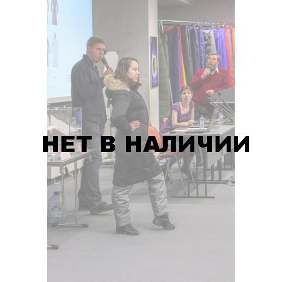 ПАЛЬТО ПУХ ЖЕН SNOWFLAKE ЧЕРНЫЙ L