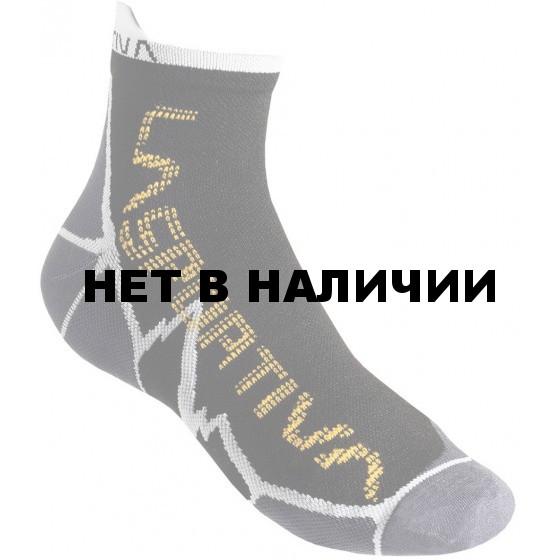 Носки LONG DISTANCE SOCKS Black/Yellow, 29SBY